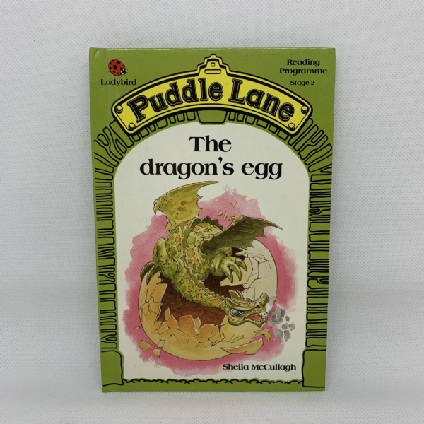 Ladybird Book PUDDLE LANE The Dragon's Egg - 1st Edition - Stage 2 - No.4